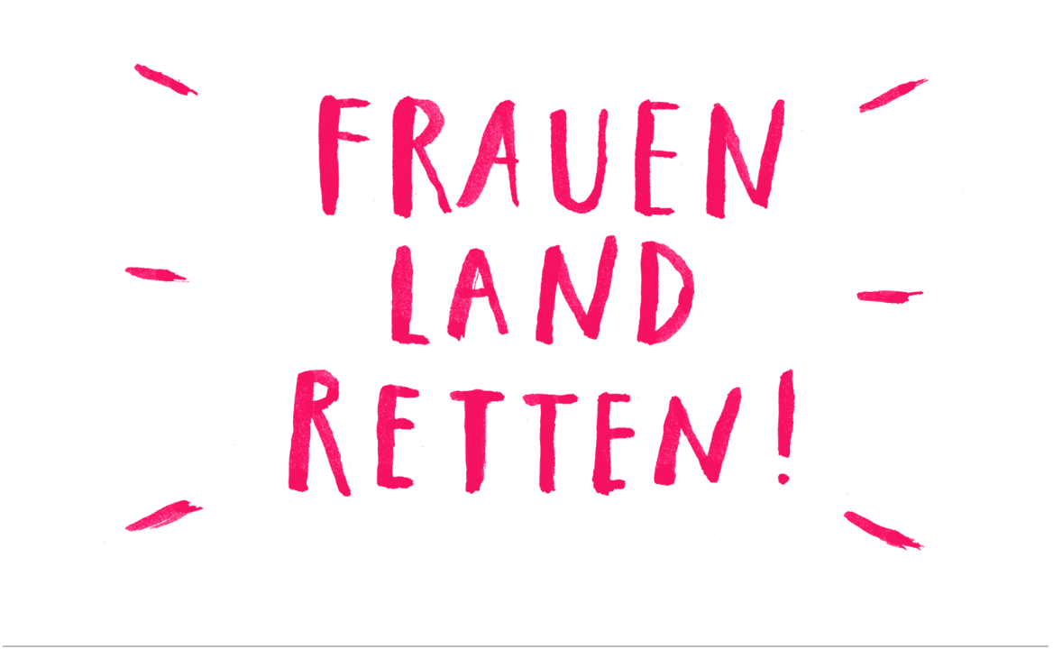 #Frauenlandretten