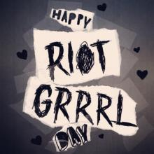 Flyer Riot Grrrl Day